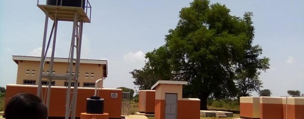AGU H/C 111 VIP latrines by USAID and Rhites-E